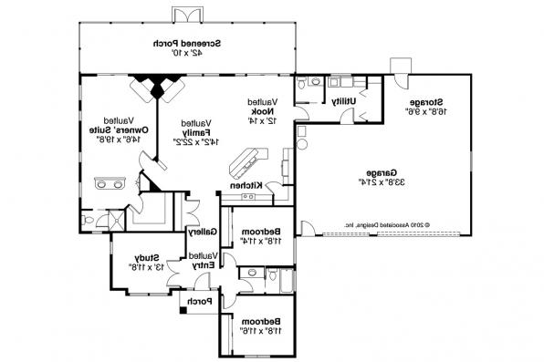 Southwest house plans medina 10 188 associated designs for Southwest homes floor plans