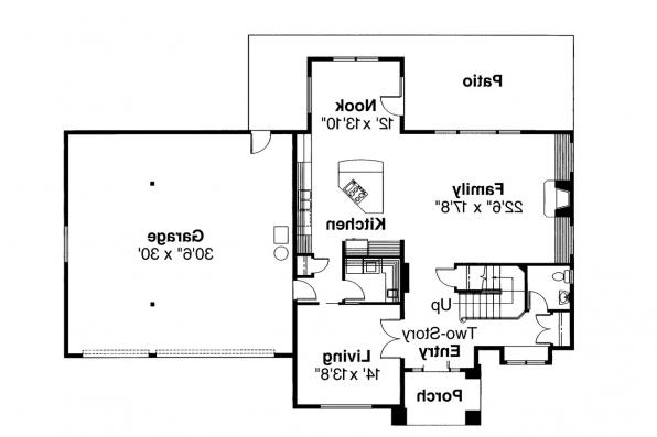 Traditional House Plan - Arolee 30-142 - 1st Floor Plan