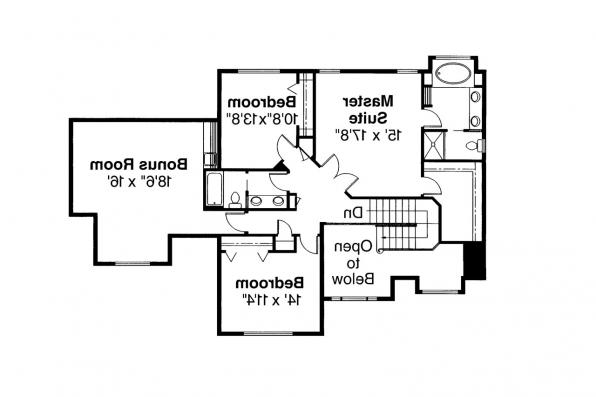 Traditional House Plan - Arolee 30-142 - 2nd Floor Plan
