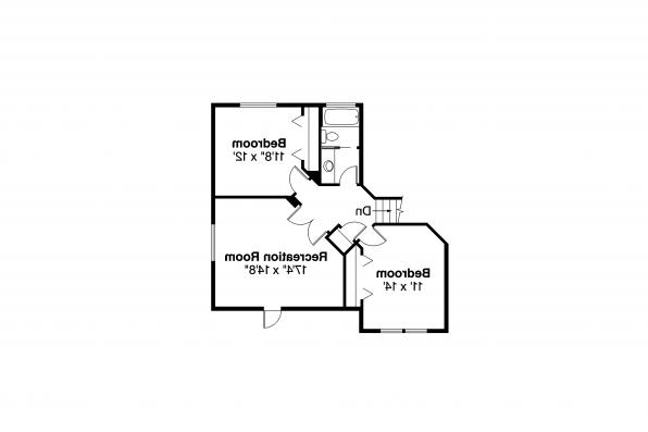 Traditional House Plan - Colerdige 30-251 - Second Floor Plan