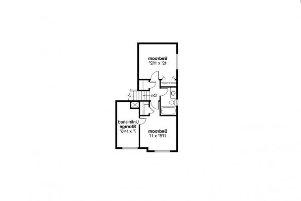 Traditional House Plan - Knollwood 30-324 - 2nd Floor Plan