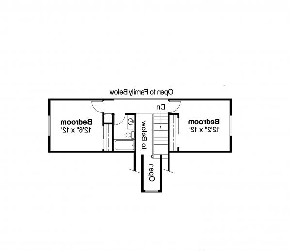 Traditional House Plan - Maderas 10-012 - 2nd Floor Plan