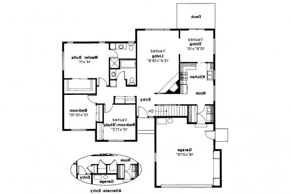 Traditional House Plan - Ventura 10-063 - Floor Plan