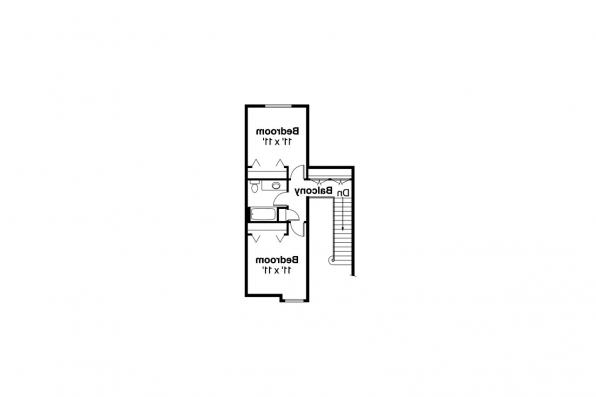 Traditional House Plan - Wichita 10-254 - 2nd Floor Plan