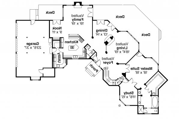 Tudor Houe Plan - Cheshire 10-055 - 1st Floor Plan