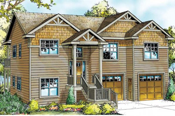 Cape Cod House Plan - Snowberry 30-735 - Front Elevation