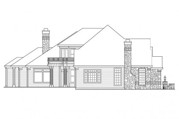 Classic House Plan - Macleod 30-120 - Right Elevation