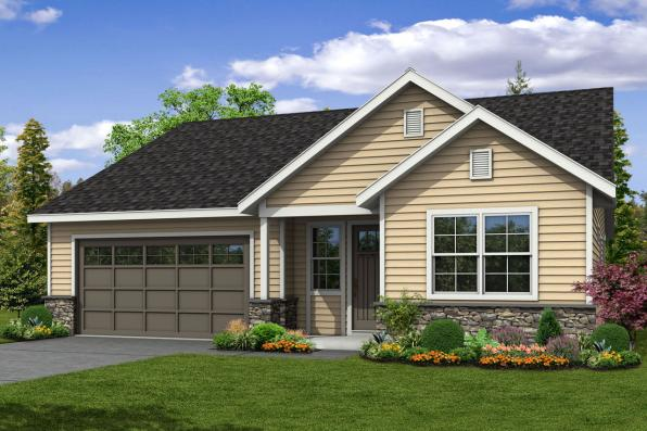 Cottage House Plan - Arborbrook 31-072 - Front Elevation
