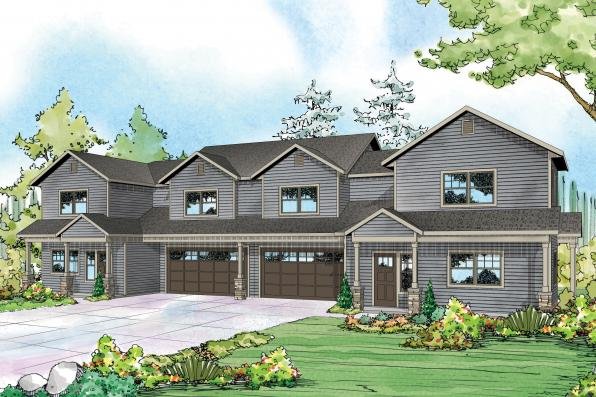 Country House Plans - Warrendale 60-036 - Associated Designs