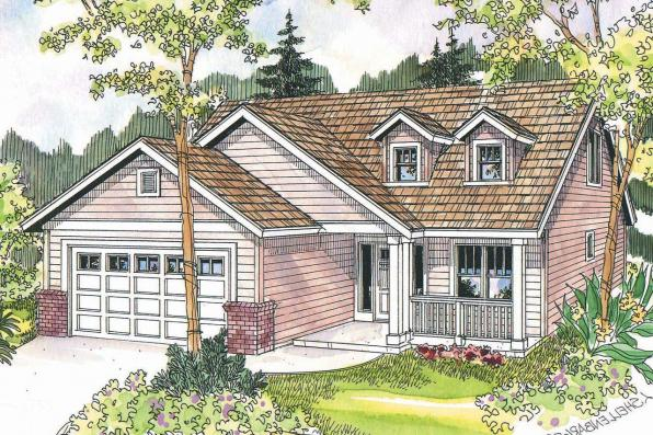 Country House Plan - Chatham 30-623 - Front Elevation