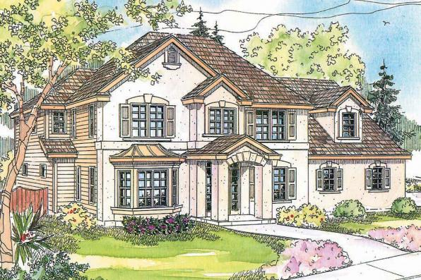 European house plans gerabaldi 30 543 associated designs for European home designs llc