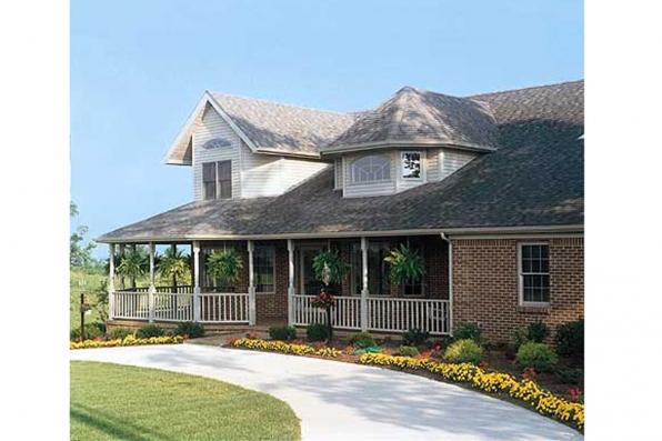 House Plan Photo - Auburn 10-046 - Front Elevation