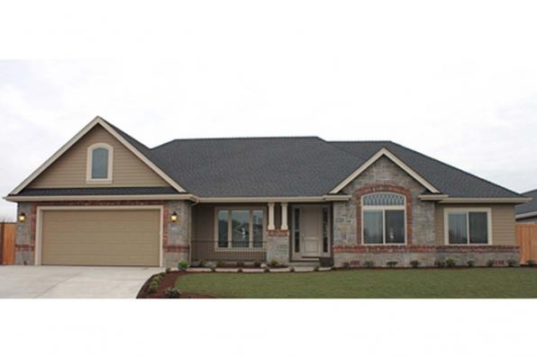 House Plan Photo - Littlefield 30-717 - Front Elevation
