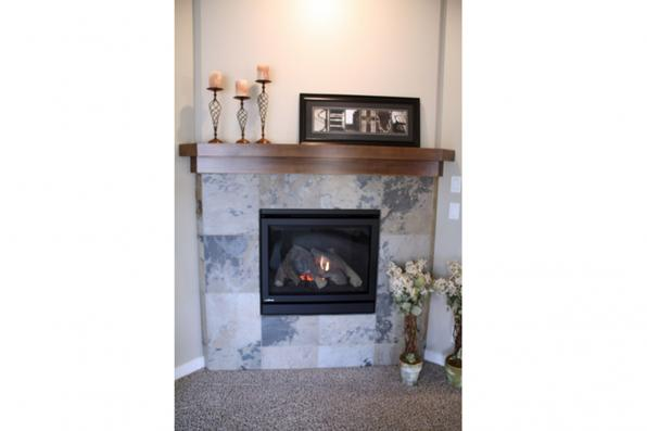 House Plan Photo - Oakdale 30-881 - Fireplace