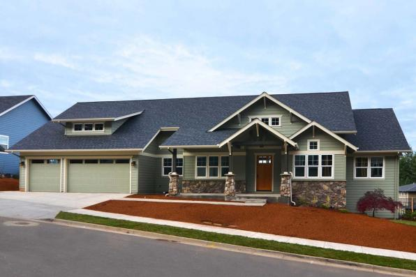 Craftsman House Plan Photo - Westheart 10-630 - Front Exterior