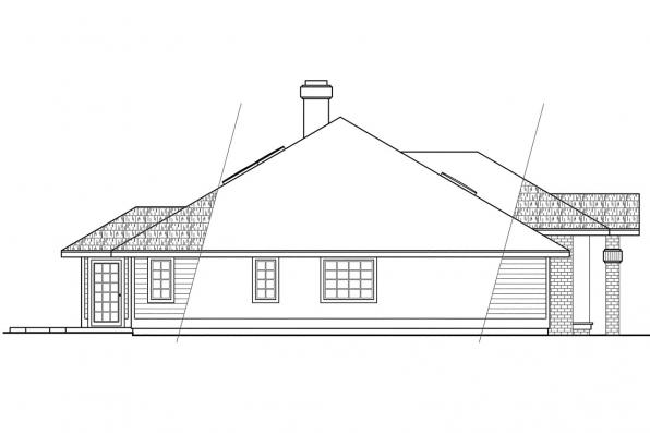 Contemporary House Plans - Ainsley 10-008 - Associated Designs