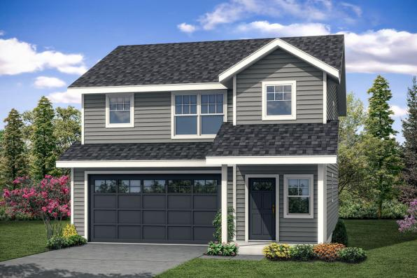 Traditional House Plan - Juneberry 31-107 - Front Elevation