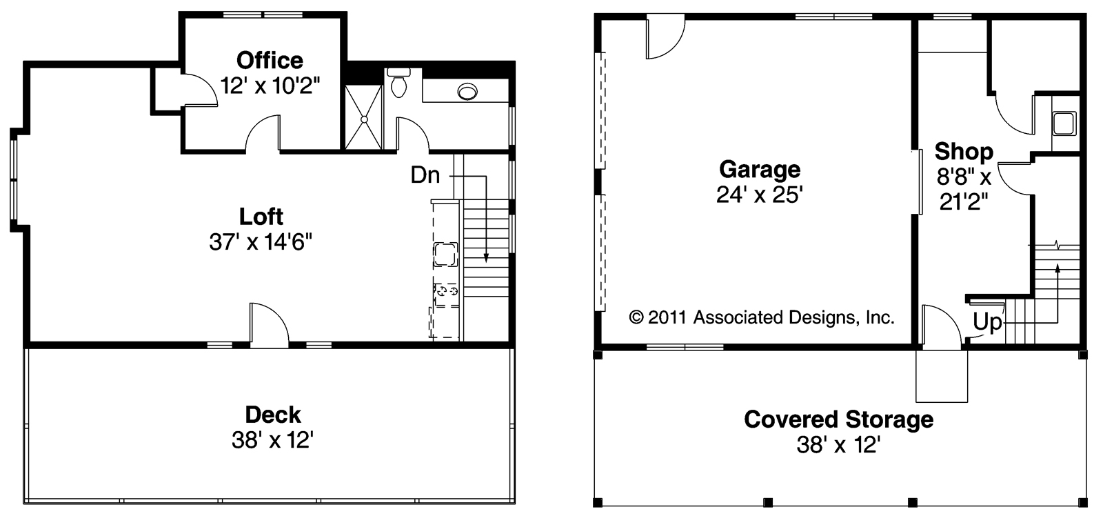 Elwood cool garage floor plans with loft Garage floor plans free