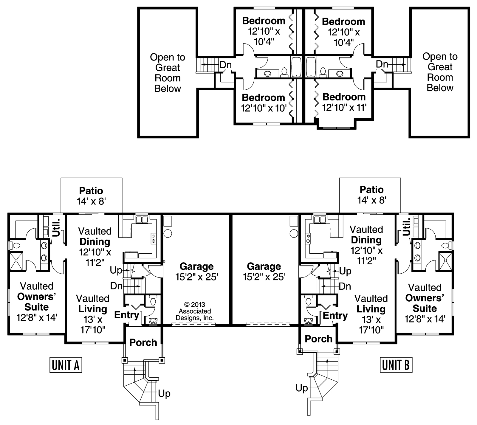 Unusual duplex floor plans joy studio design gallery Duplex plans