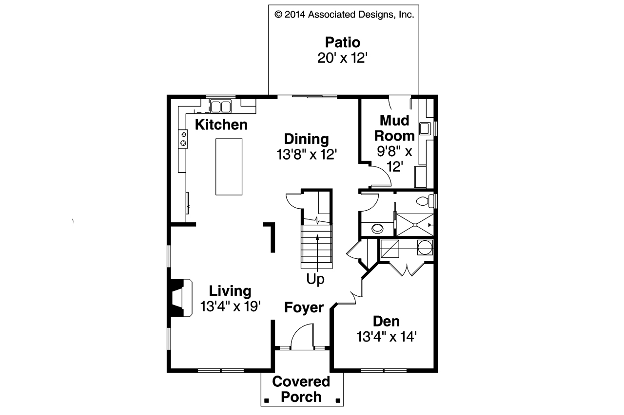 Cape cod house plans hanover 30 968 associated designs for Simple cape cod floor plans