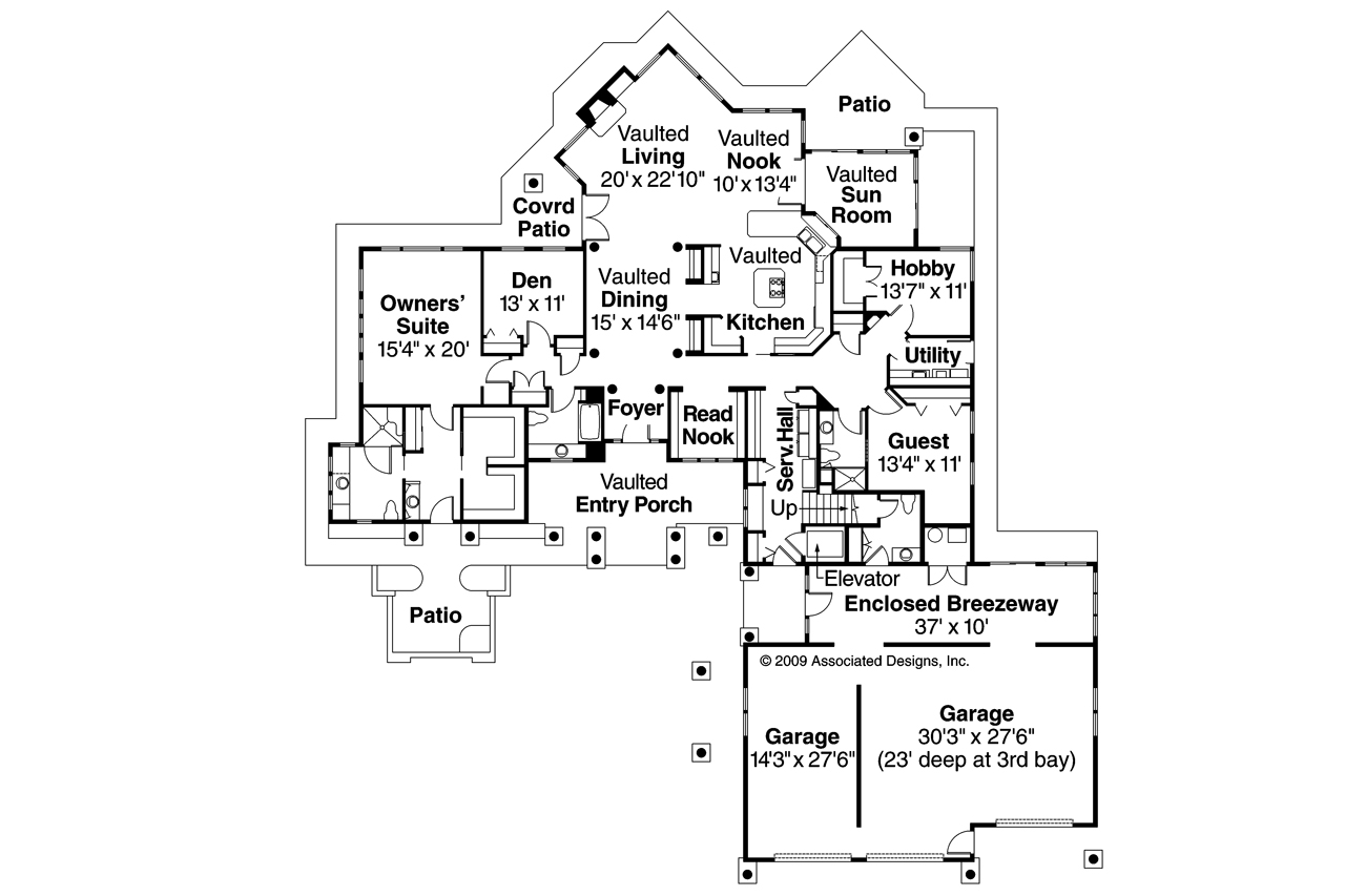 Chalet house plans Plan chalet