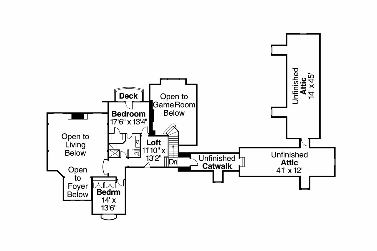 Chateau house plans picardie villa 30 676 associated for Chateau homes floor plans