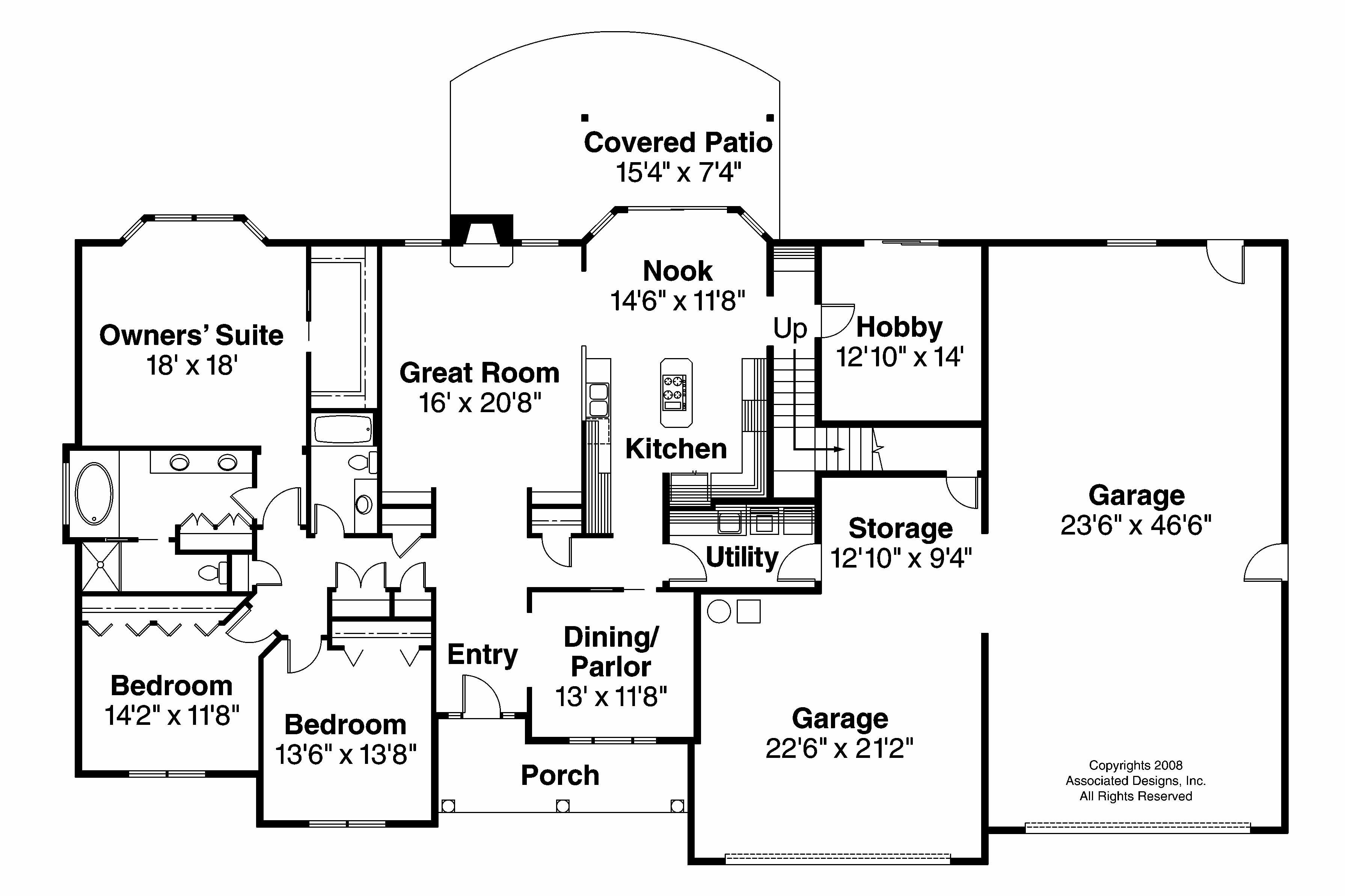 Classic house plans wellesley 30 494 associated designs for Home house plans