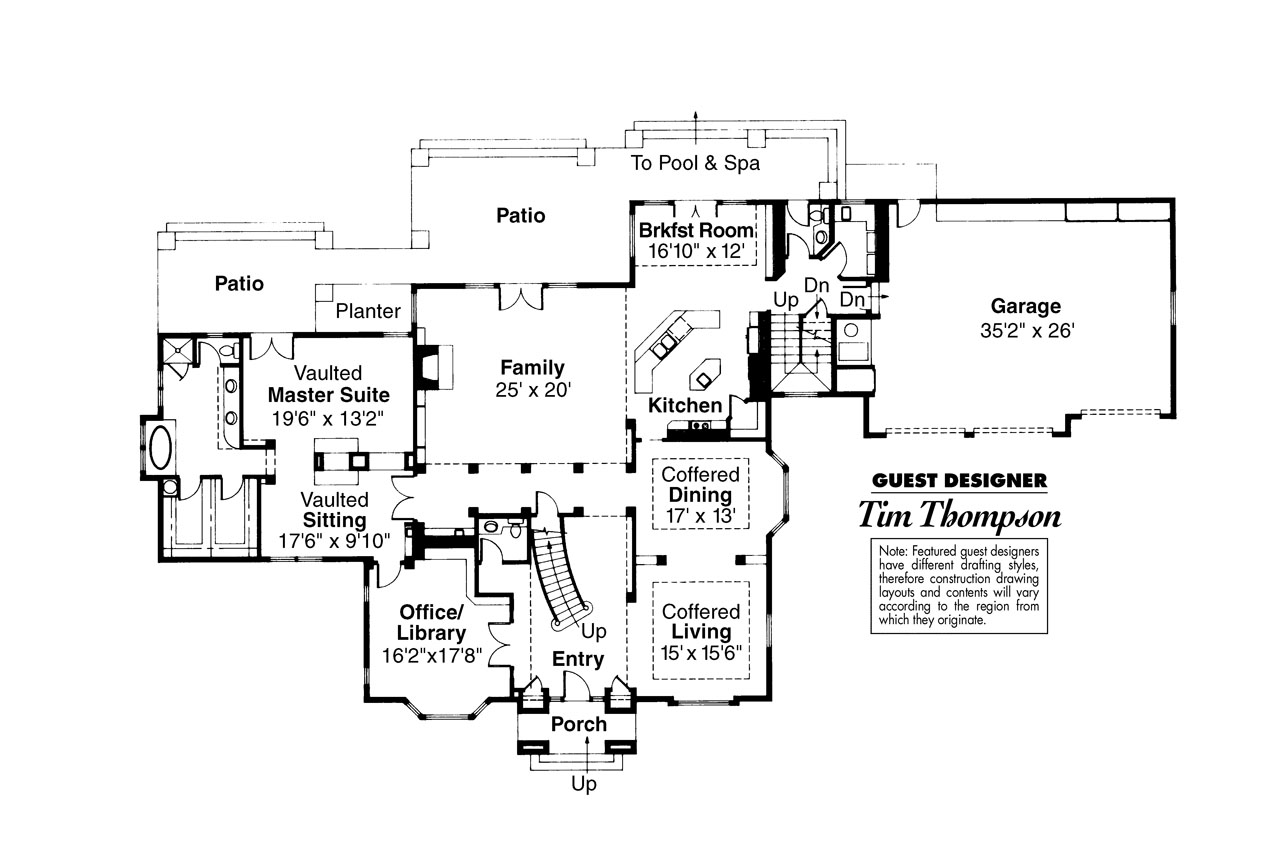 Colonial house planscolonial house plans clairmont Colonial style homes floor plans