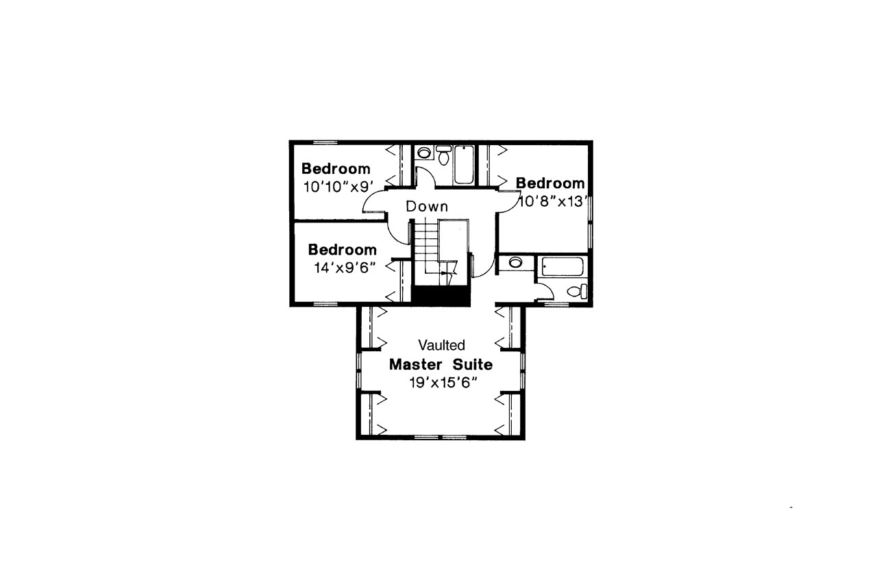 House plans t shaped House plans