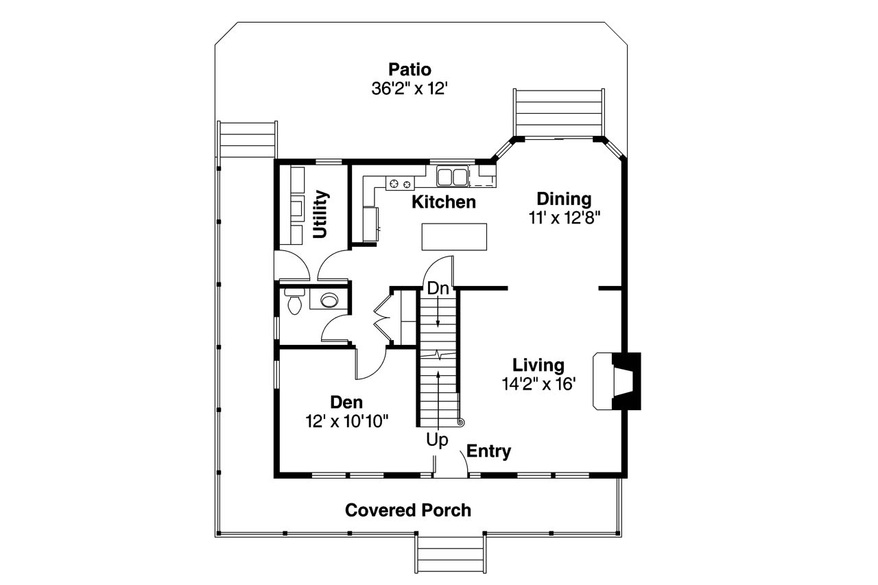 Country house plans green acre 70 003 associated designs for Country house floor plans