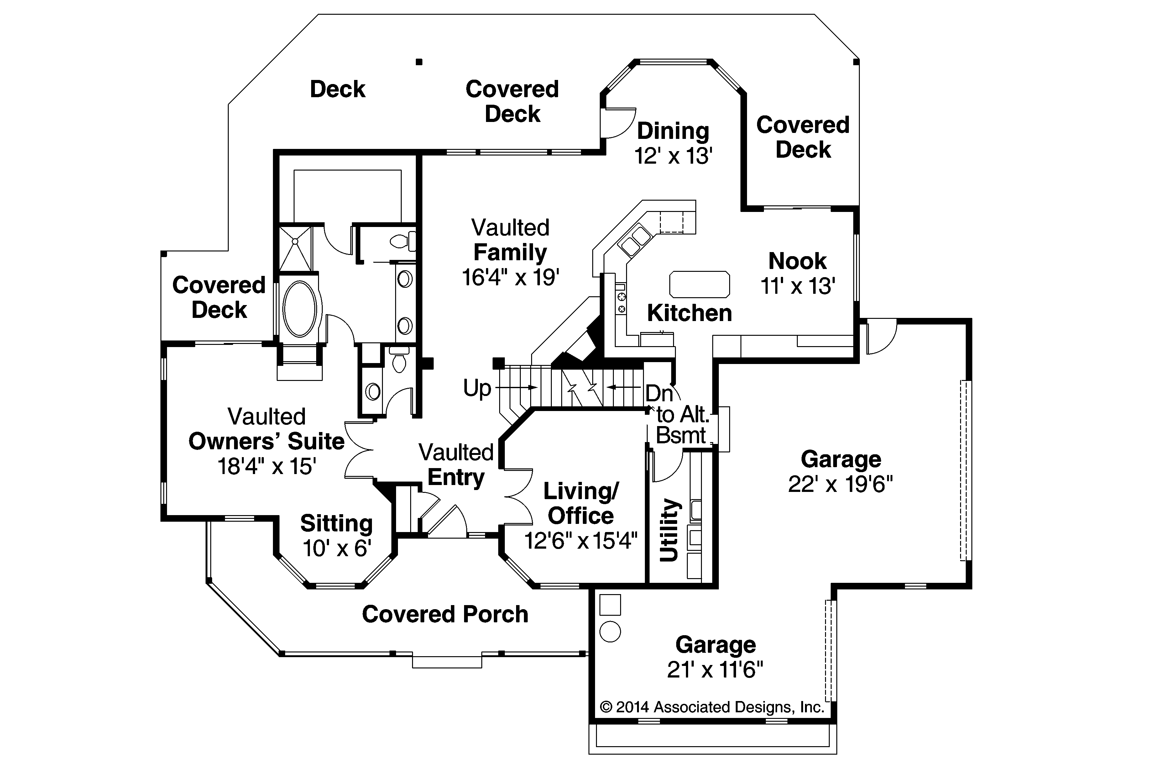 Country house plans heartwood 10 300 associated designs - Country house floor plans ...