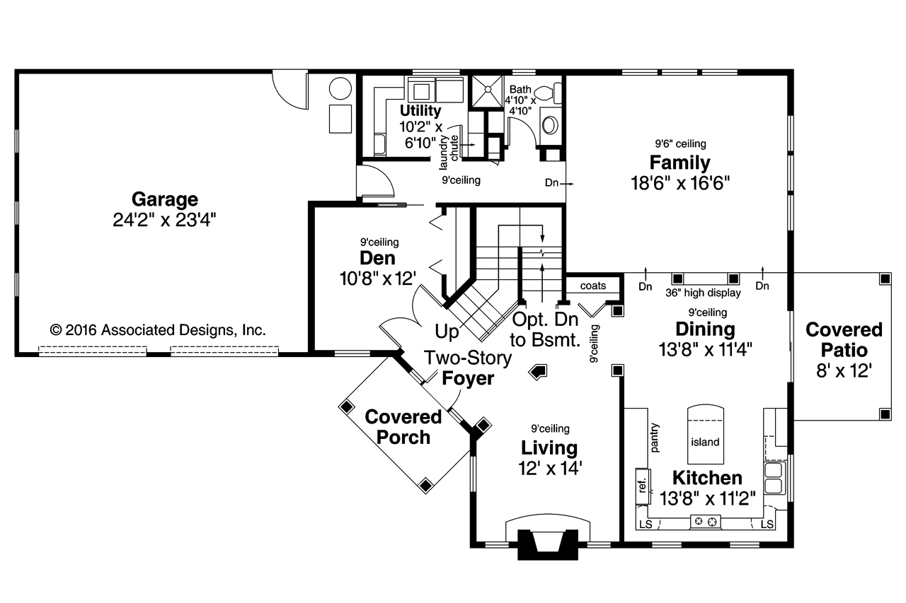 Craftsman house plans bowman 30 315 associated designs for Craftsman home plans