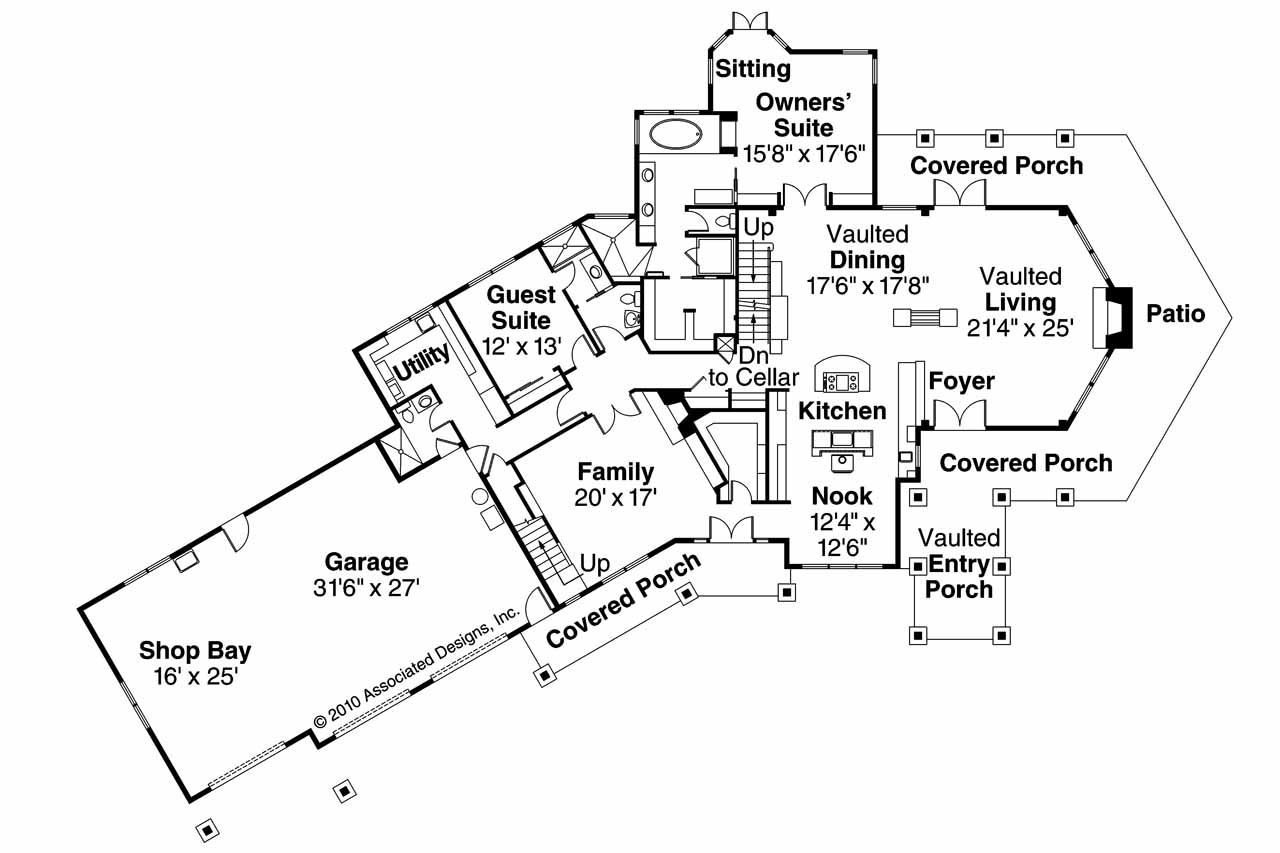 House Plans For Large creage - rts - ^