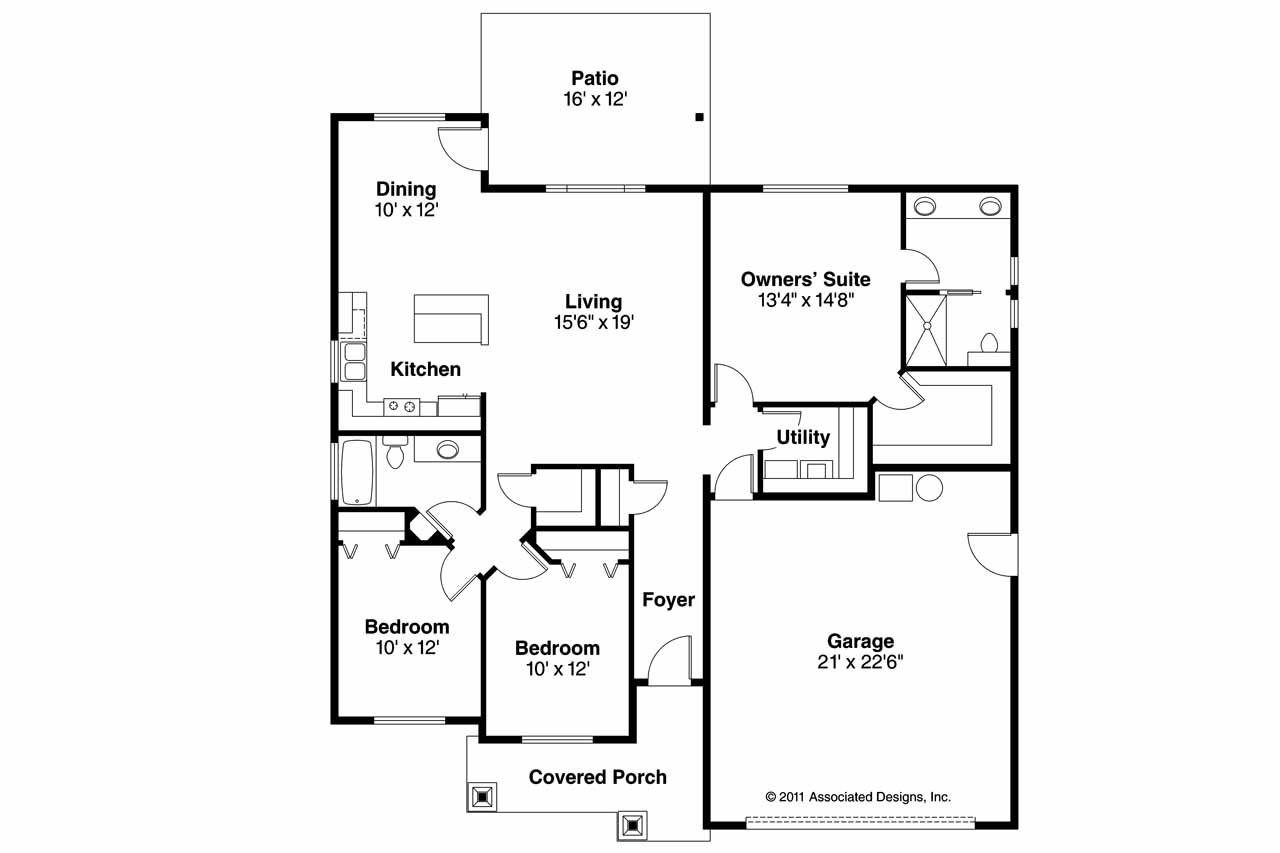 Craftsman Home Floor Plans Modern Craftsman House Floor