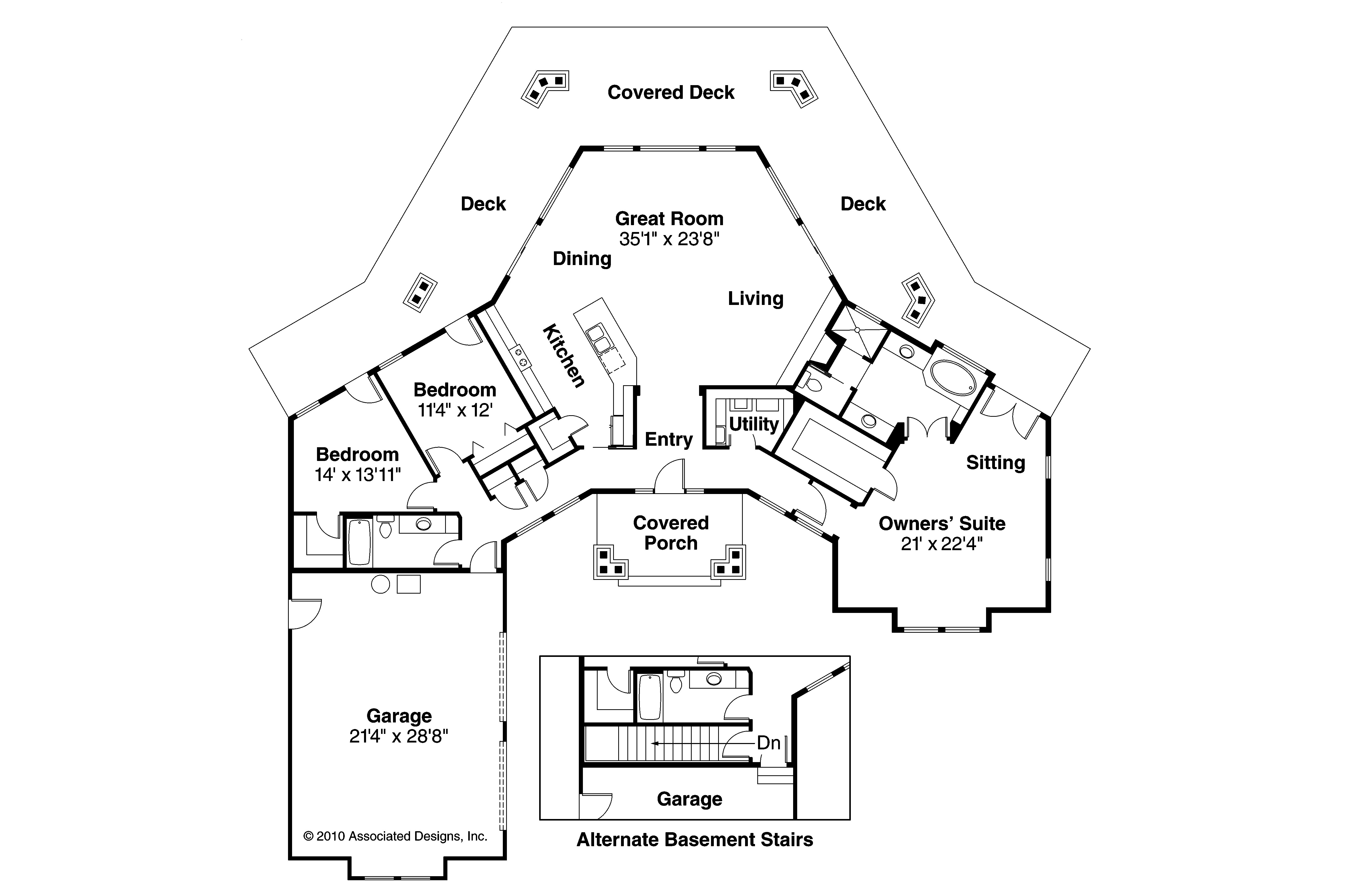 House plans with a view luxury house plans master on the Rear view home plans