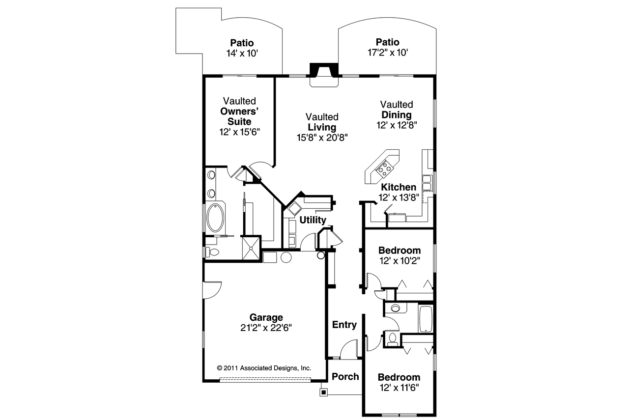 Craftsman Home Floor Plans | Modern Craftsman House Floor