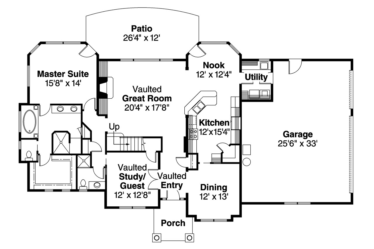 European house plans crestwick 30 425 associated designs for European floor plans