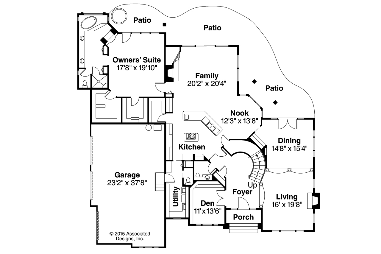 European House Floor Plans Home Design And Style