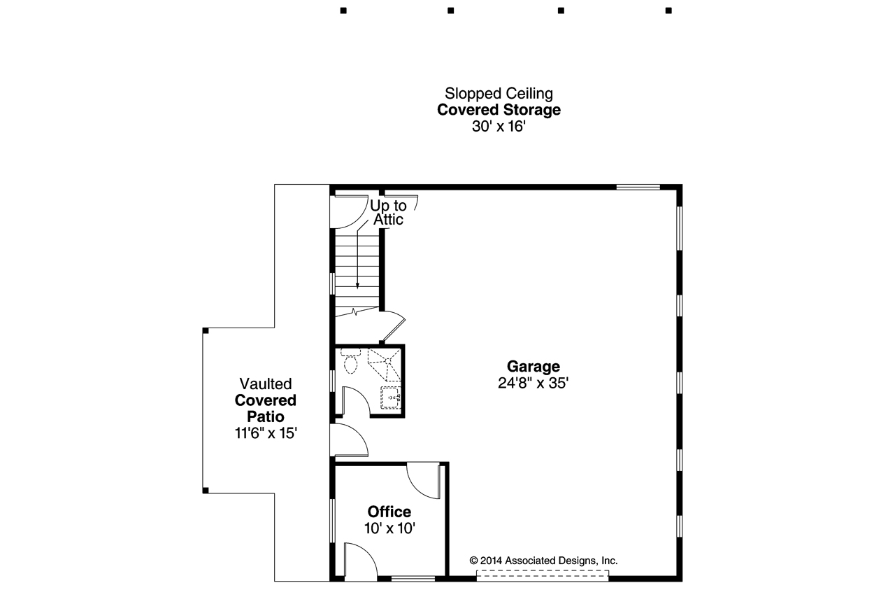 Craftsman house plans garage 20 145 associated designs Garage floor plans free