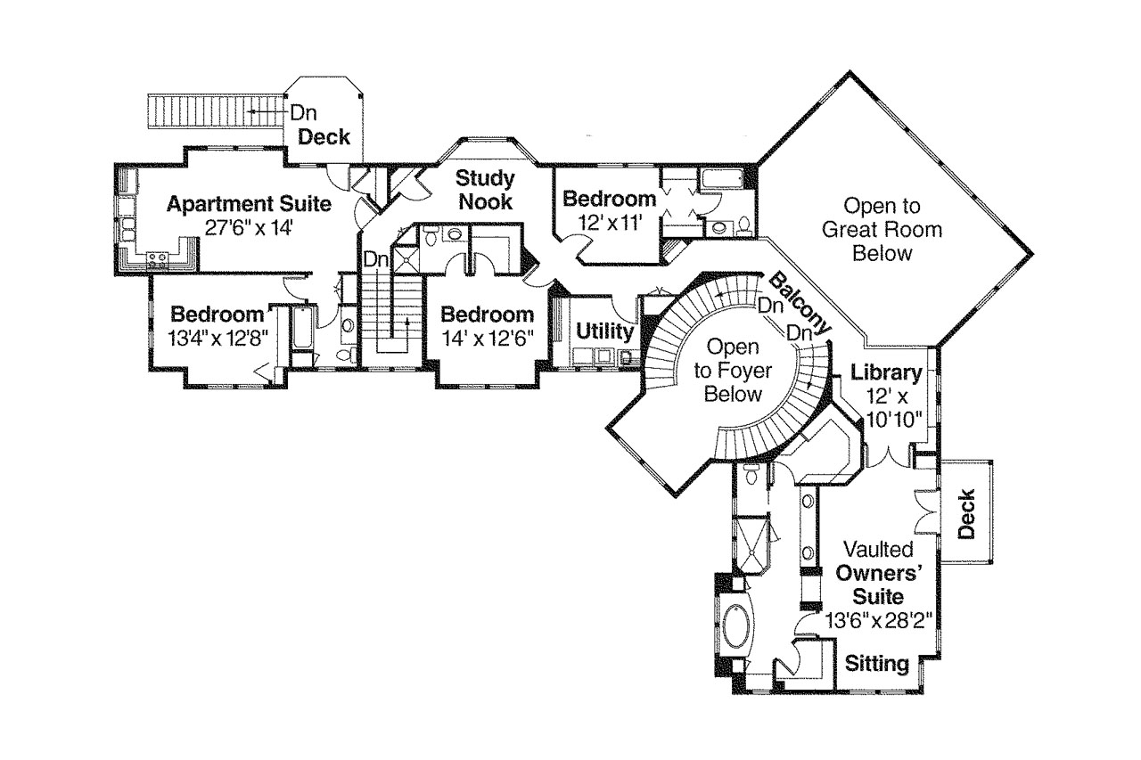 Lodge style house plans bentonville 30 275 associated for House plans floor plans