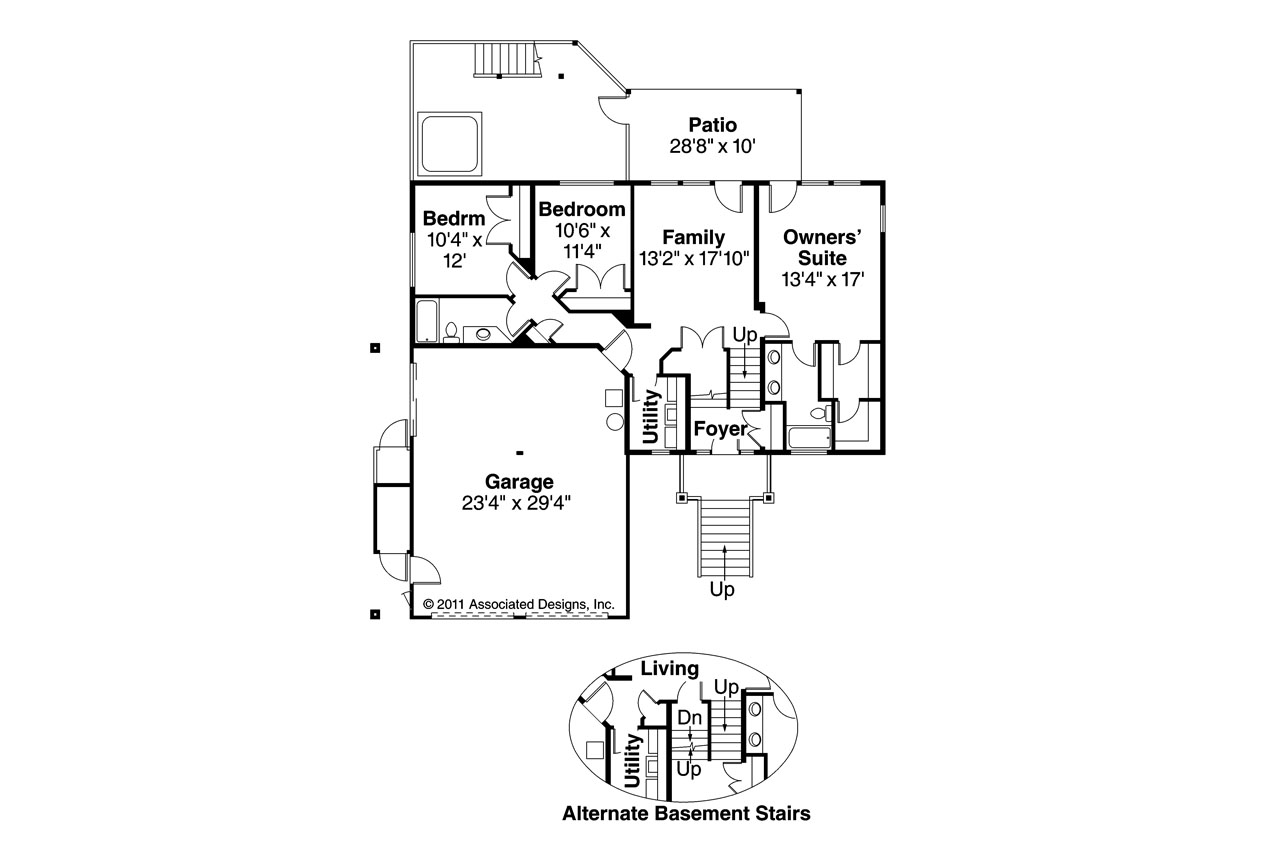 Lodge style house plans catkin 30 152 associated designs for Lodge style floor plans