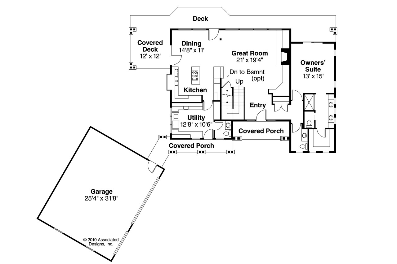 Lodge style house plans mariposa 10 351 associated designs for Lodge style floor plans
