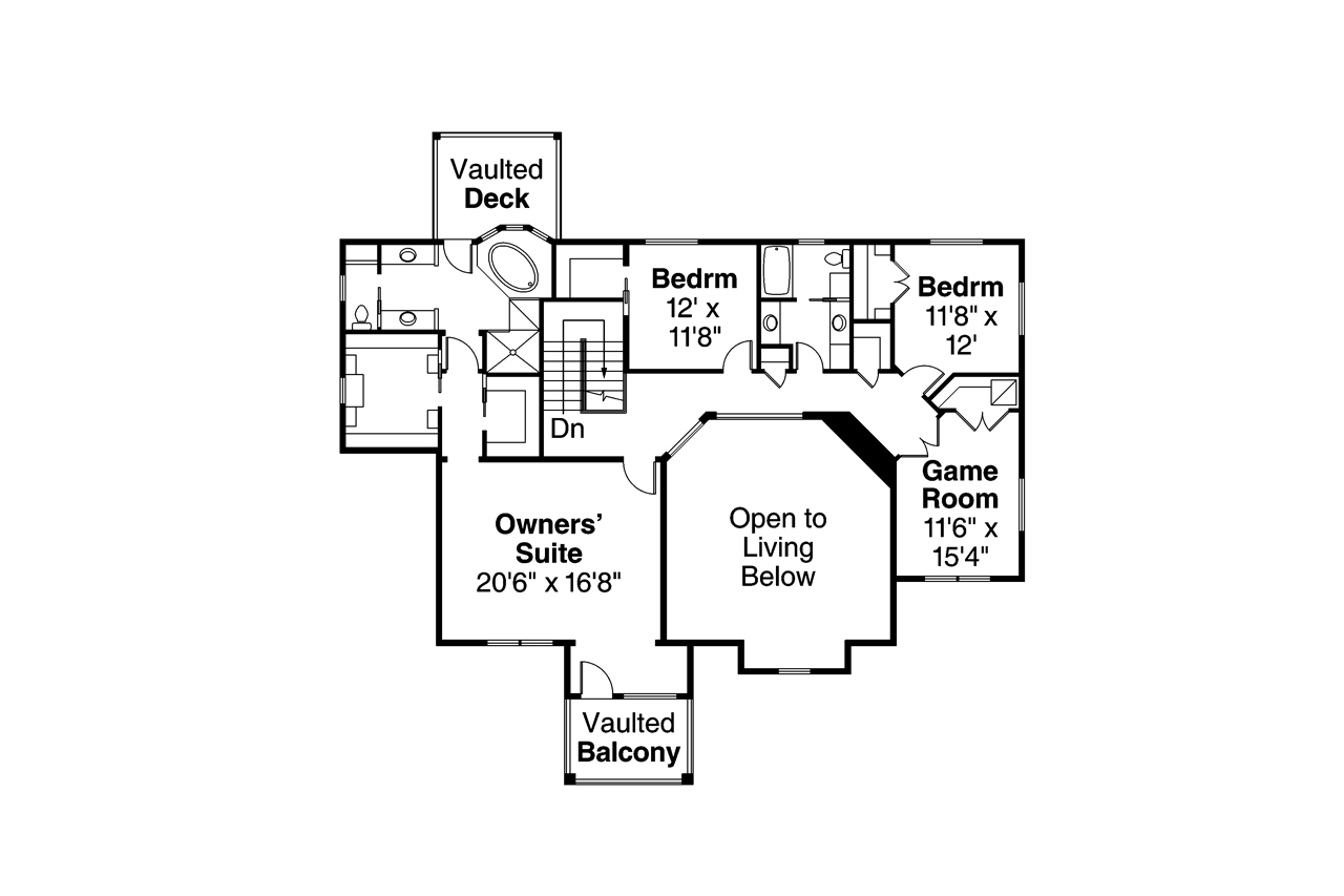 Lodge style house plans riverbank 30 999 associated for Lodge style floor plans