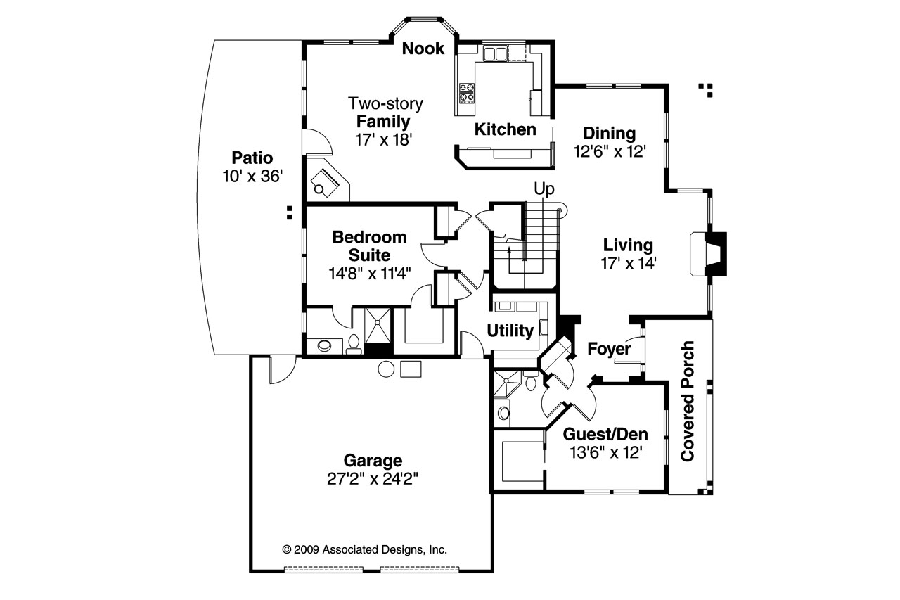 Mediterranean house plans hazleton 30 304 associated for Mediterranean mansion floor plans