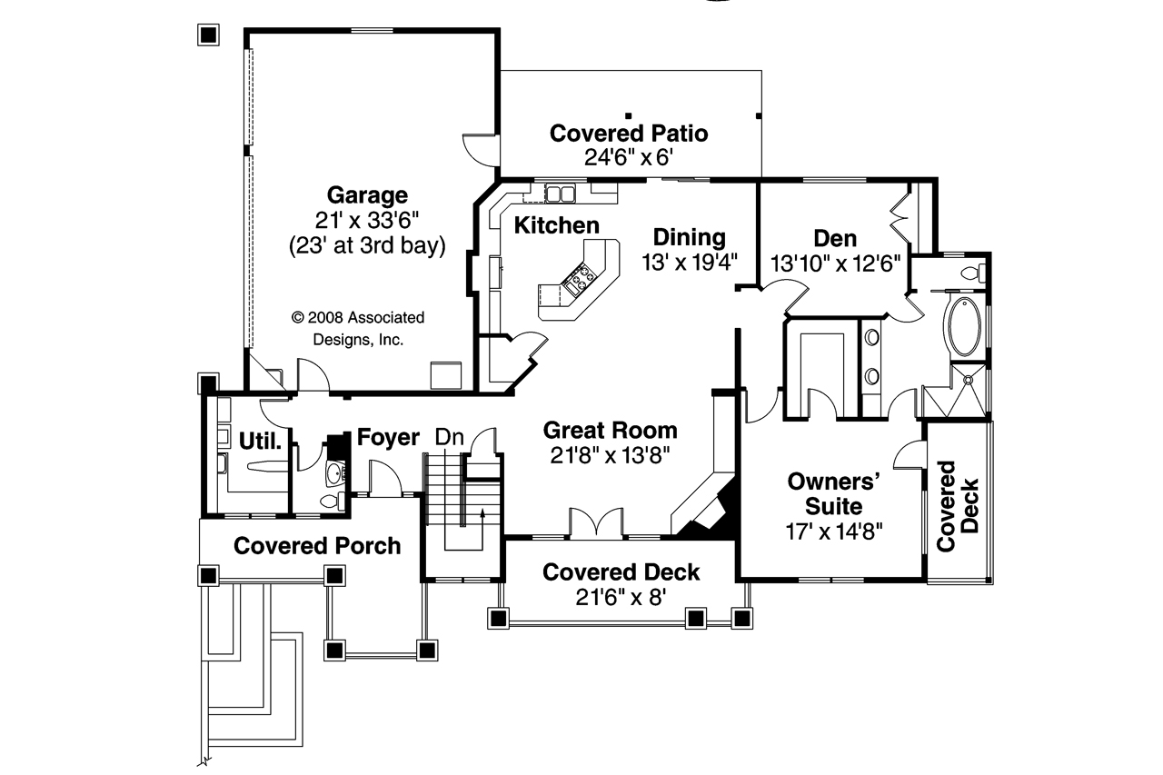 Prairie style house plans edenbridge 30 626 associated Prarie house plans