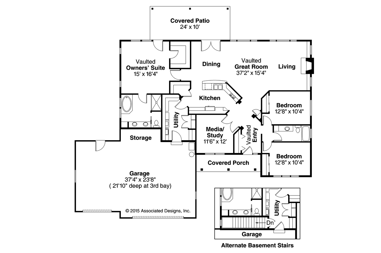 Prairie style house plans heartshaven 10 525 for Prairie style home floor plans