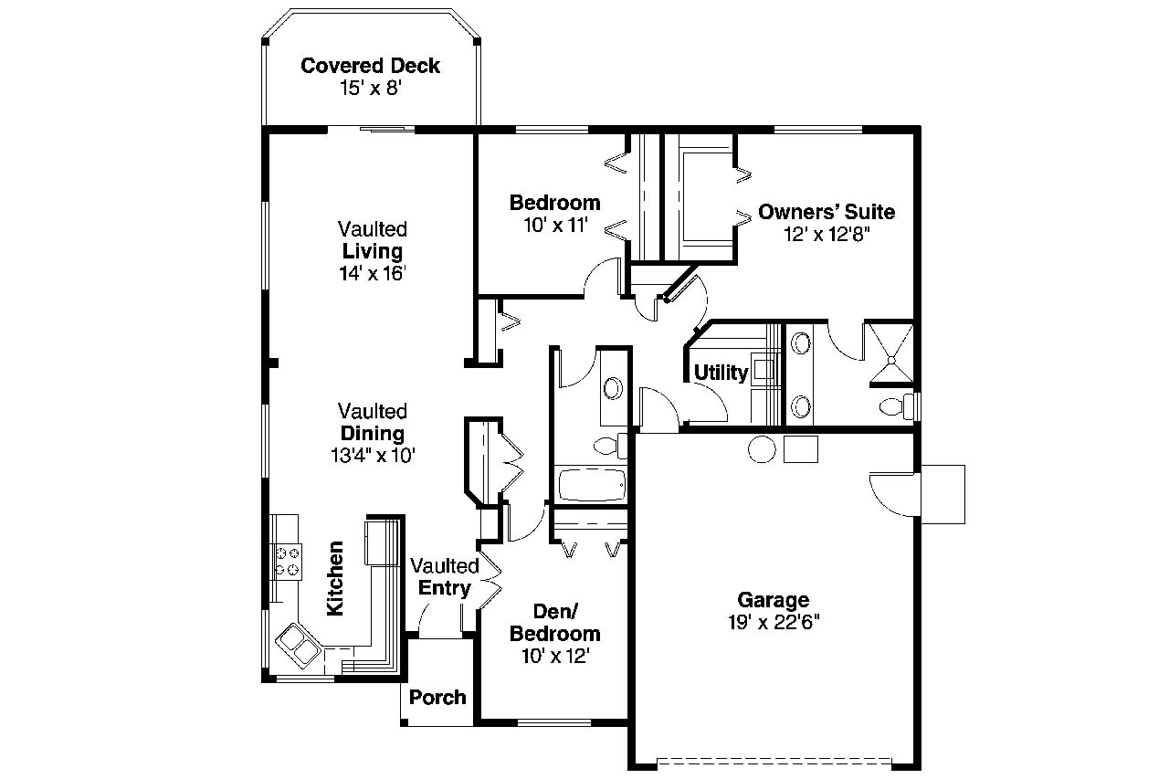 The Gallery For Full House House Floor Plan