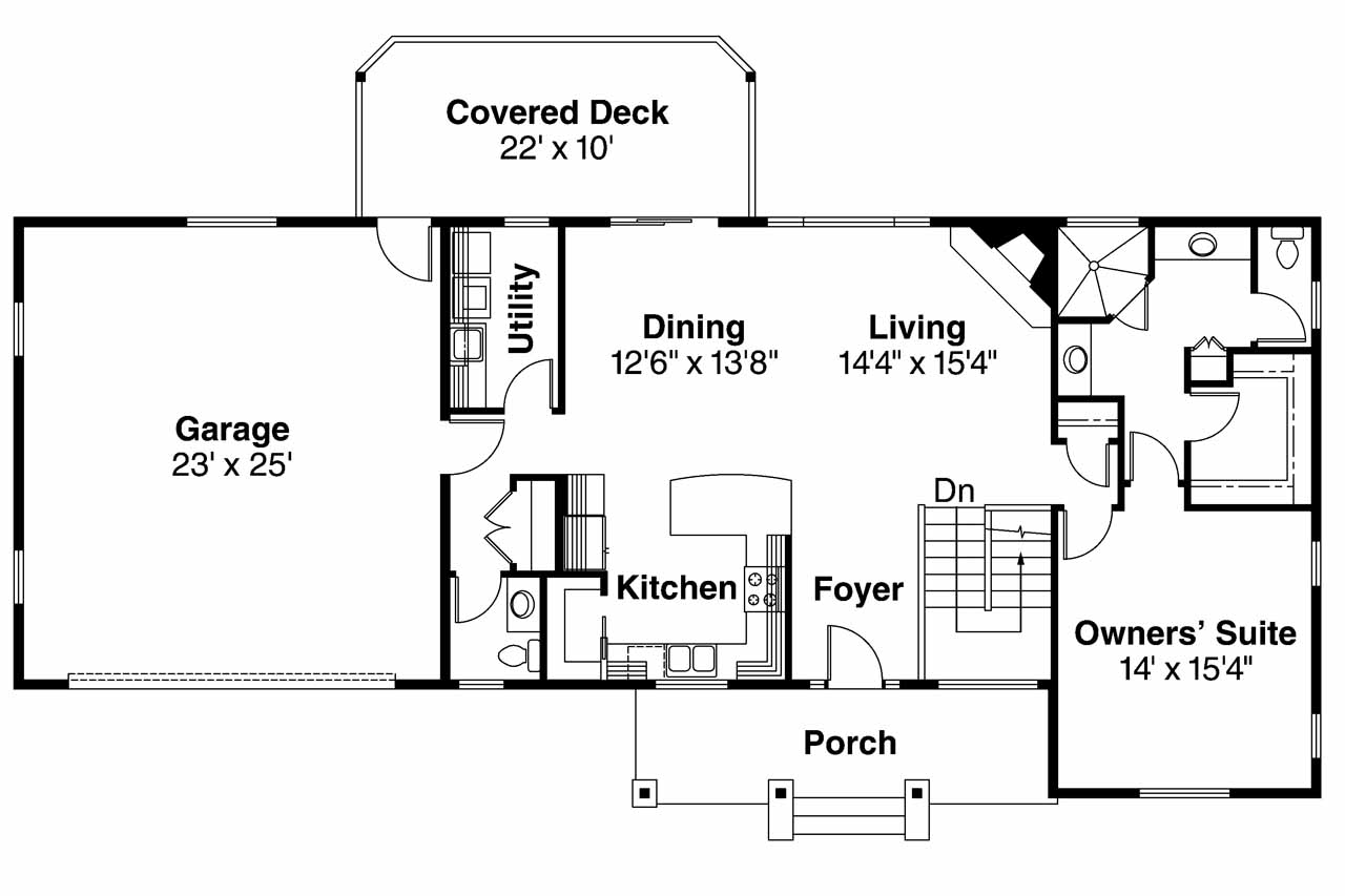 Ranch Floor Plans With Basement Ideas House Plans 45699