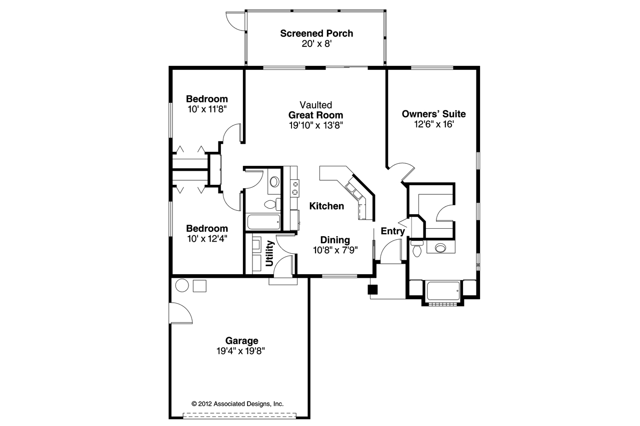Economical home plans house plan 2017 for Economical ranch house plans