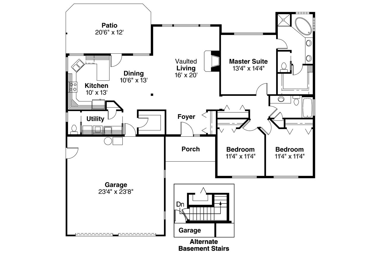 ranch house plans paxton 30 320 associated designs ranch house plan paxton 30 320 floor plan